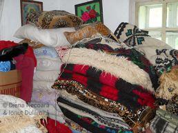 Traditional textiles, Cajvana / Bukovina 2011 © Diana Necoară & Ionuţ Dulămiţă